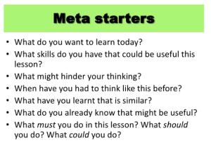 meta stuff