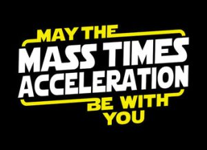 May the Force - sorry !