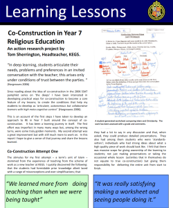 Co-contstruction by Tom Sherrington